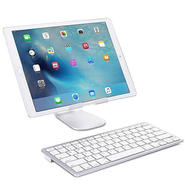Teclado inalámbrico Bluetooth ultrafino para Iphone, Ipad, Android, Tablet, PC, teléfono y otros dispositivos con Bluetooth