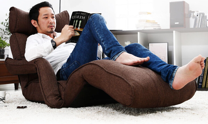aliexpress koop moderne vouwen chaise lounge bank japanse