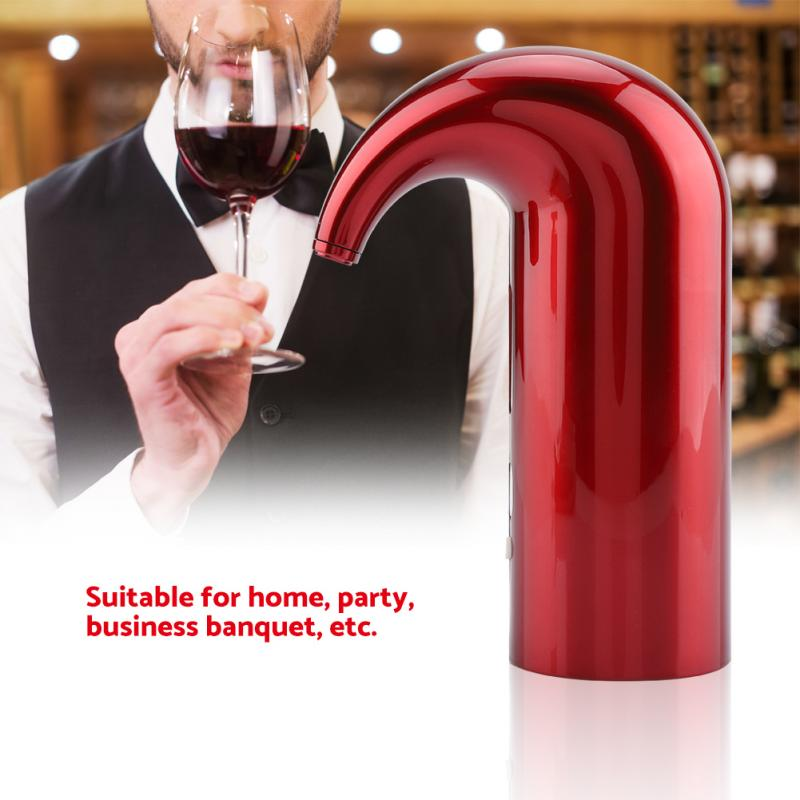 Electric Smart Wine Aerator Fast Decanter Magic Aerator Pourer Decanter Auto Decanter Dispenser Wine Accessory