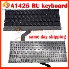 10pcs/lot NEW 13.3″ RU Russian Russia keyboard For Macbook Pro A1425 MD212 MD213 Big Enter Model 2012 2013year