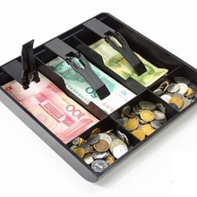 Case Cash-Drawer-Tray Money-Counter-Case Store 6-Box Hard-Plastic New