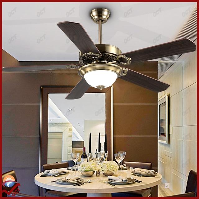 Luxury 85 265v Retro Ceiling Fan Ikea Decorative Quiet Pendant