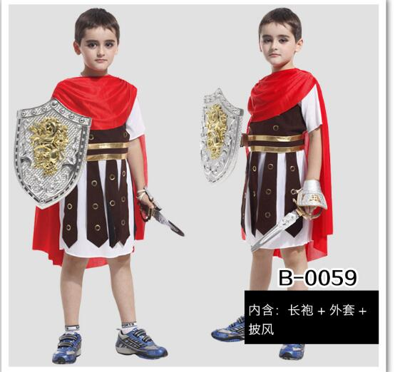 ncient rome costumes for children cosplay costume roman warrior kids roman soldier costu ...