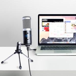 Image 4 - MAONO USB スタジオマイクプロフェッショナルコンデンサーポッドキャストコンピュータマイクカラオケ Youtube ゲーム記録用三脚
