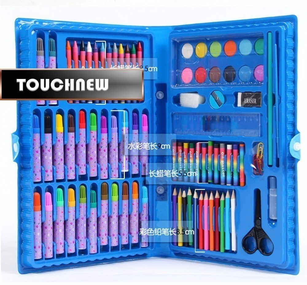 deli child puzzle stationery gift set toy paint brush crayon watercolor pen primary school students gift supplies sale Deli Child puzzle stationery set toy paint brush crayon watercolor pen school students gift supplies drawing pencil kit