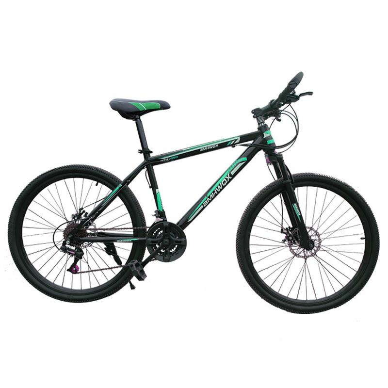 Mountain Bike 26 Inch Cycling Bicycle Front And Rear Mechanical Disc Brakes