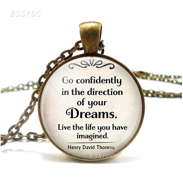 Go Confidently In The Direction Of Your Dreams Thoreau Quote