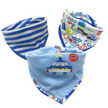 Baby Girls boys Bibs & Burp Clothes Waterproof Bandana  Clothing Product Towel Bandanas Wholesale
