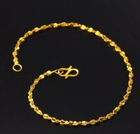 Fashion Solid 999 24K Yellow Gold / Perfect Star Bracelet 3.0g 6.7 L