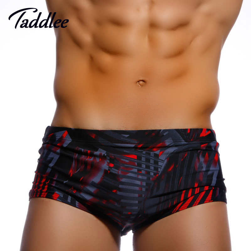 Taddlee Marque Hommes Maillots De Bain Maillots De Bain Slips De Bain Bikini Homme Hommes Maillots De Bain Boxers Coffres Gay Europe Taille Surf Boardshorts