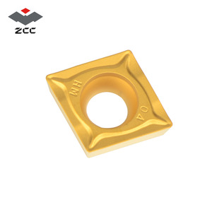 Image 2 - 10pcs/lot ZCC.CT promotional turning carbide inserts CCMT CCMT060204 CCMT09T304 CCMT120408 CNC turning tool for steel cast iron