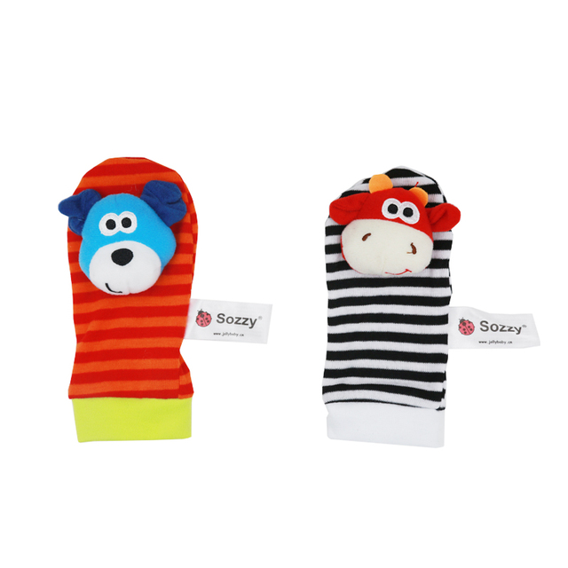 Baby Socks Rattle Toys