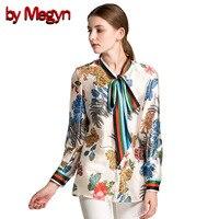 by Megyn women shirt long sleeve 2017 autumn free shipping blouses fashion women shirts feminine shirt plus size XXXL women tops