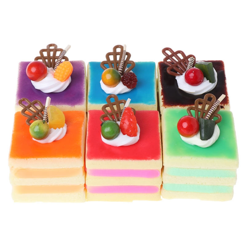 Squishy Cake Slow Rising Cream Squeeze Toys Doll Fun Antistress Toy Decoration Gift Trick Gift Cell Phone Charms Pendant