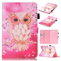 Hybrid PU Leather Flip Stand Smart Case Cover For Samsung Galaxy Tab A 10 1 2016