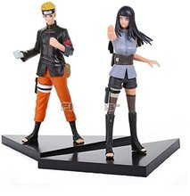 Naruto Uzumaki Naruto Hyuuga Hinata PVC Action Figures Collectible Model Toys 2pcs/lot
