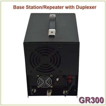 Brand New GR300 Two-way Radio Walkie Talkie  Base Station/ Repeater 350-390MHz 25Watts 8 Channels Repeater with Duplexer 3