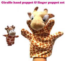 Marioneta Jirafa + marioneta de dedo