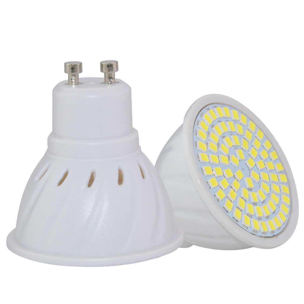 Factory Price LED Spotlight GU10 E27 MR16 Led Lamp 8W 4W 6W AC 220V 3528SMD 36Leds 54Leds 72Leds White/Warm White LED Lighting