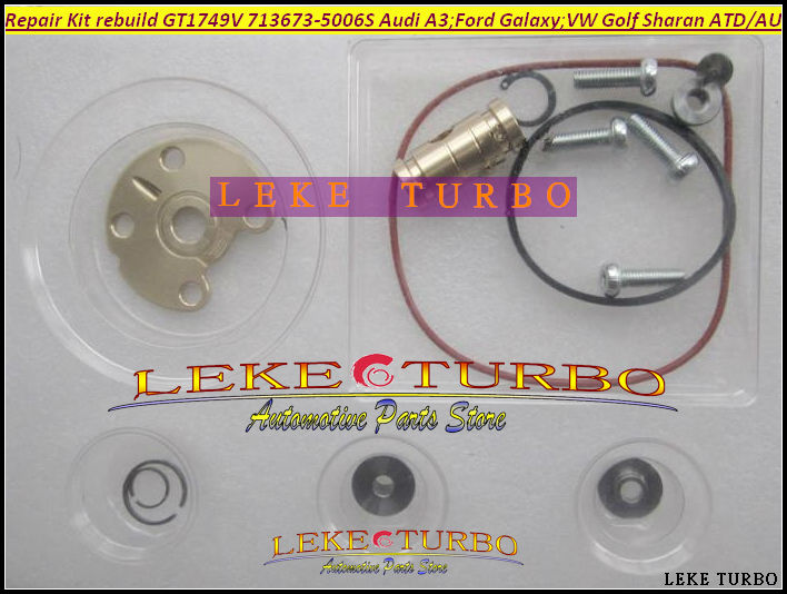 Free Ship TURBO Repair Kit rebuild 713673-5006S 713673 Turbocharger For Audi A3 For Ford Galaxy VW Golf Octavia I 1.9L  ATD AUY free ship turbo gt25s 754743 5001s 754743 0001 754743 79526 turbocharger for ford ranger 2004 ngd3 0 ngd 3 0l tdi 3 0tdi 162hp