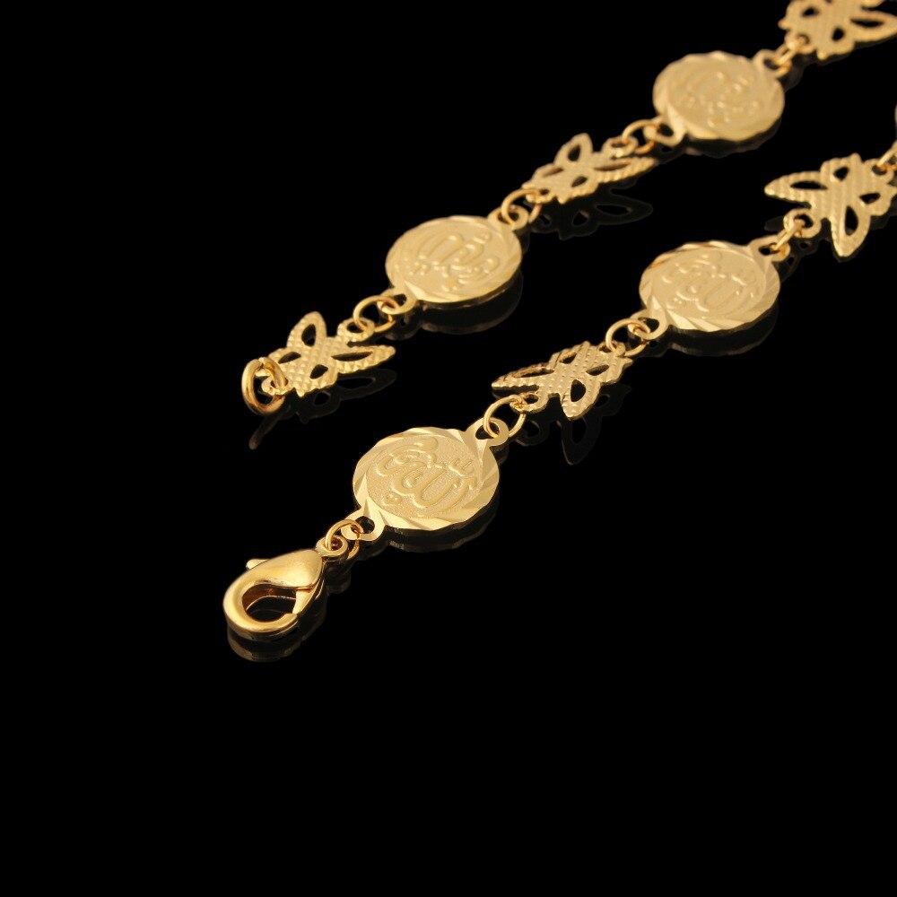 1558c7274803 Fansheng Metal moneda pulseras mujeres oro Color árabe Oriente Medio  brazalete africano musulmán joyería regalos de vacaciones longitud 18c