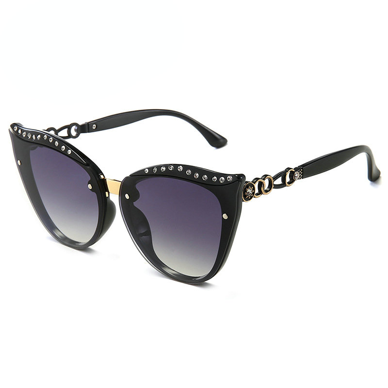 Brand Designer Square Women Crystal Diamond Sunglasses 2019 Vintage Sun Glasses For Men Women Driving UV400 Shades Goggles NX
