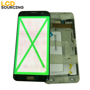 Image 3 - AMOLED Big Red Burn Shadow LCD Display For Samsung Galaxy S7 Edge G935 G935F G935FD Touch Screen Digitizer Assembly with Frame