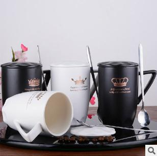 Black And White Prince Princess Mug King Queen Coffee Cup Free Shipping Creative Tea In Mugs From Home Garden On Aliexpress