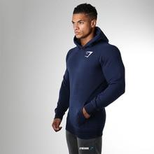 Mode Männer Hoodie Pullover Casual Trikots Billig Heißen Männlichen Schweiß Anzüge Herbst Baumwolle Bodybuilding Langarm Muskel Gedruckt