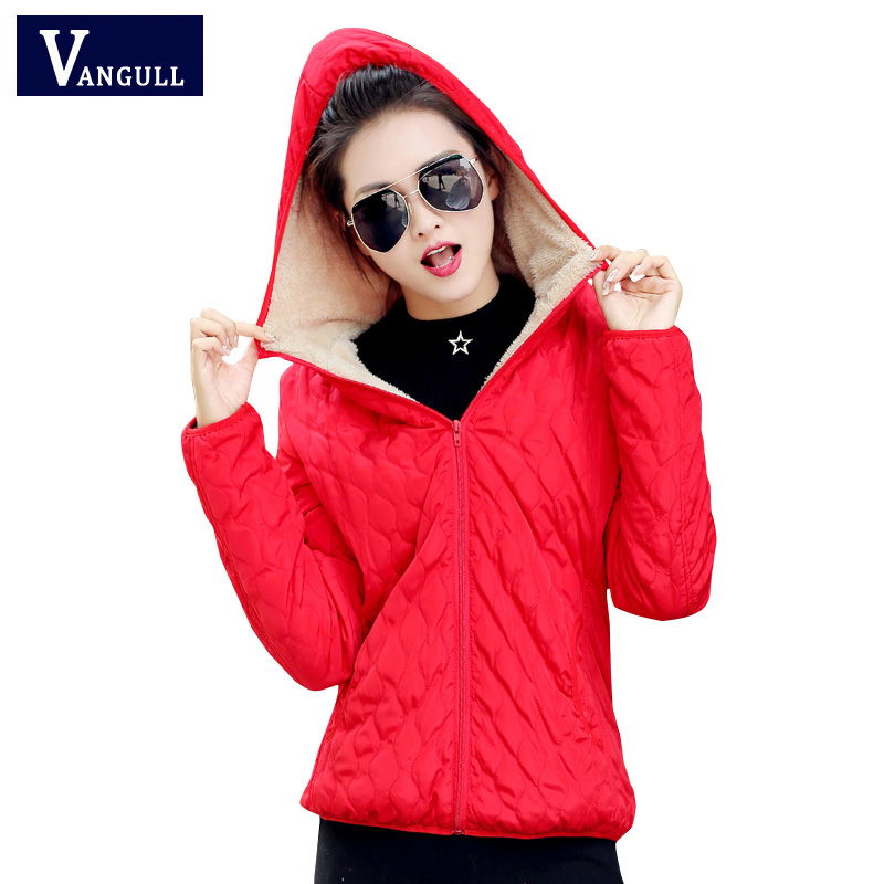 winter jacket 2017 New Autumn women hooded fleece solid coat spring thin outerwear female short   parka   zipper jaqueta feminina