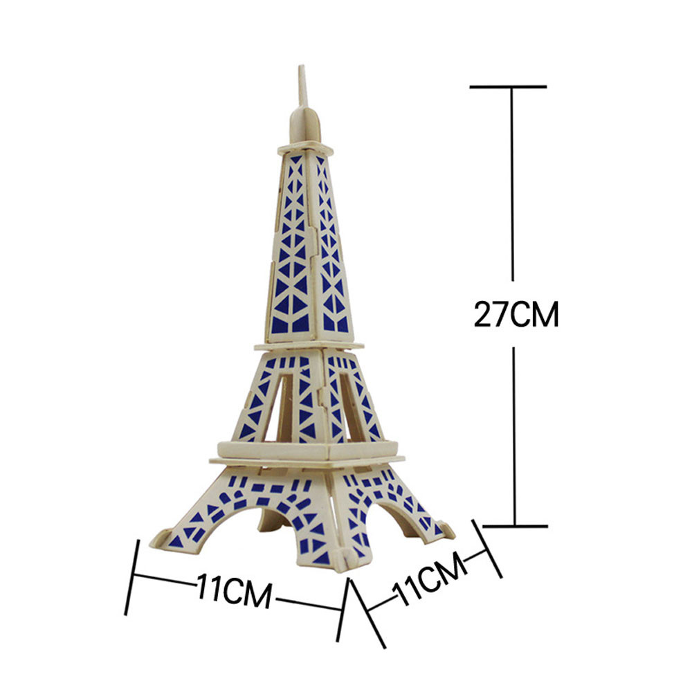 Free coloring pages eiffel tower - Eiffel Tower 3d Jigsaw Puzzle Toys Wooden Adult Children S Intelligence Toys Super Quality Educational Toy