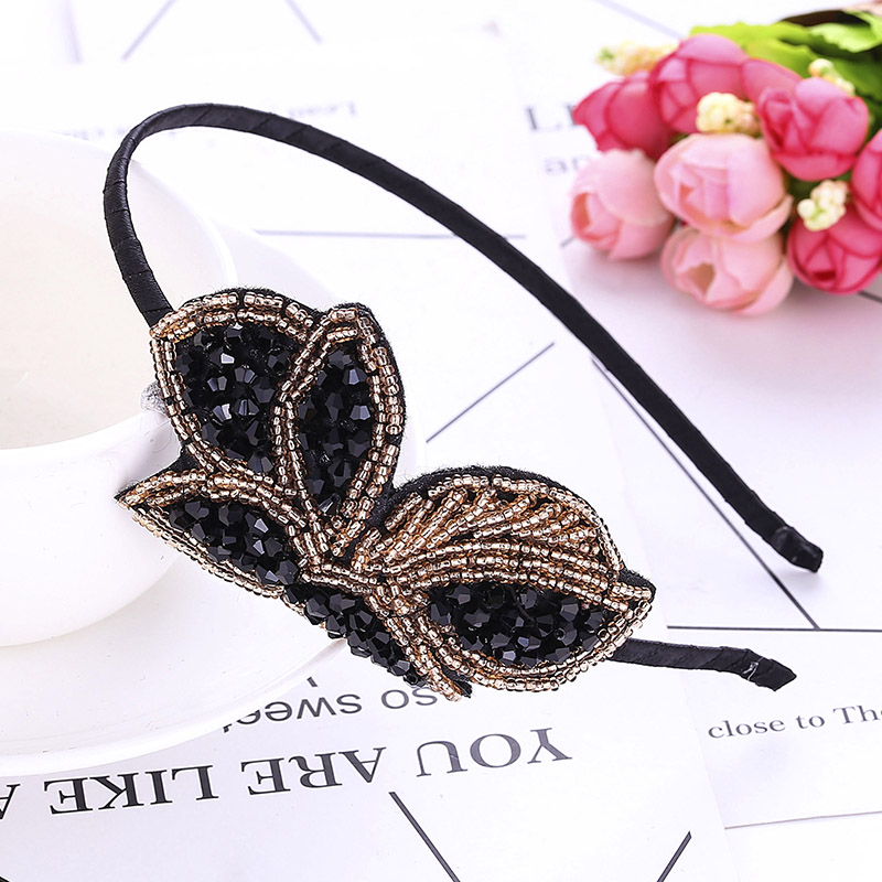 Kids Headwear Ornament Hairband Hair Hoop Crystal Rhinestone Cat Ears Headband