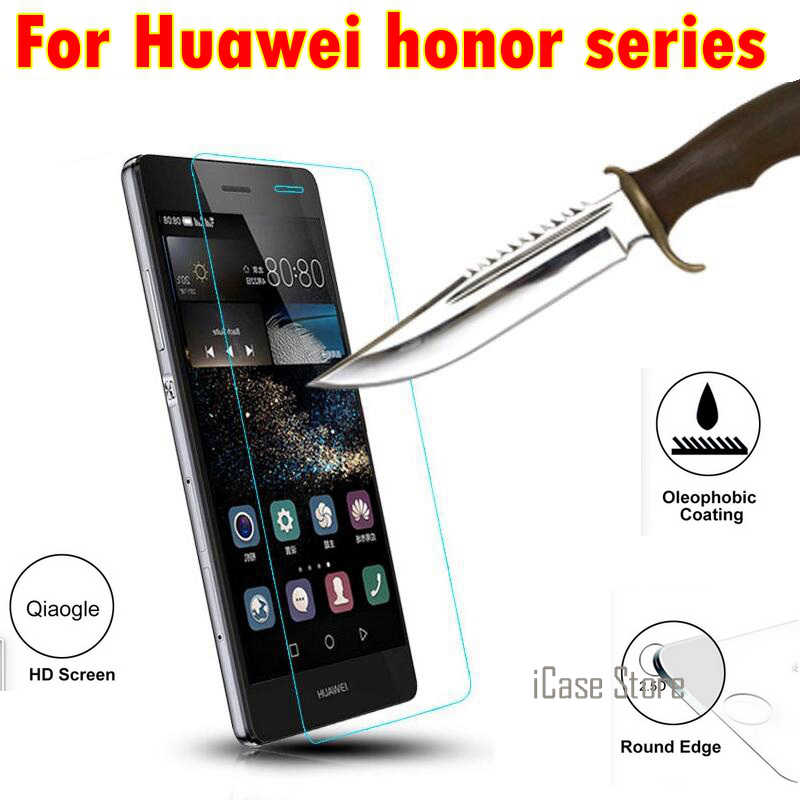 Premium Tempered Glass For Huawei Honor 8 6 plus 5x 3X Honor 4C Honor 4X Protective Screen Film case