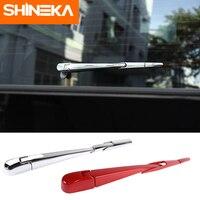 SHINEKA Windscreen Wiper For Jeep Wrangler JL 2018+ ABS Car Rear Rain Wiper Decoration Cover Accessories For Jeep Wrangler JL