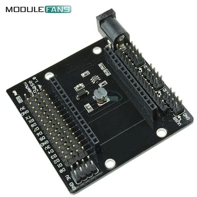 NodeMcu Base ESP8266 Testing DIY Breadboard Plate NEU NodeMCU Development Board ESP8266-12E For Arduino IDE