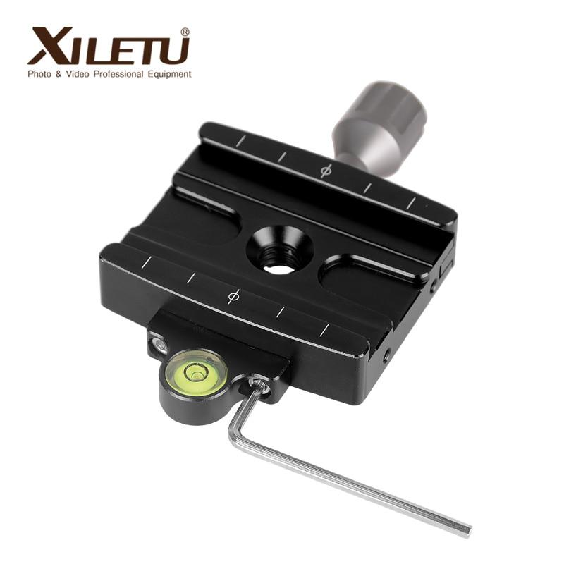 XILETU QR-50P Universal Quick Release Clamp Tripod Monopod Adapter For Manfrotto Gitzo RRS ARCA-SWISS SIRUI