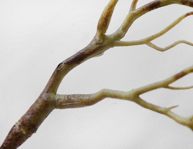 Manzanita коралловые сушеные Искусственные Растения Дерево вилы карликовые деревья филиал поддельные Топиарий листва Свадебный дом сад стол Декор 3 цвета - Цвет: brown