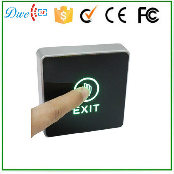 DWE CC RF 12V touch type Infrared Access Control exit button switch for access control system ...