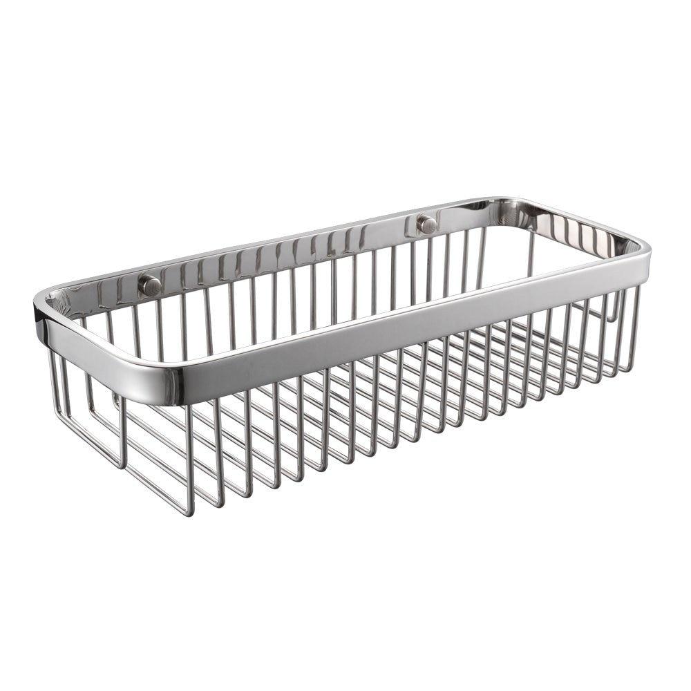 Us 132 52 Shower Caddy Corner Shower Shelf Stainless Steel Shower Basket Bath Shower Organizer Rustproof Bath Storage Corner Basket In Bathroom