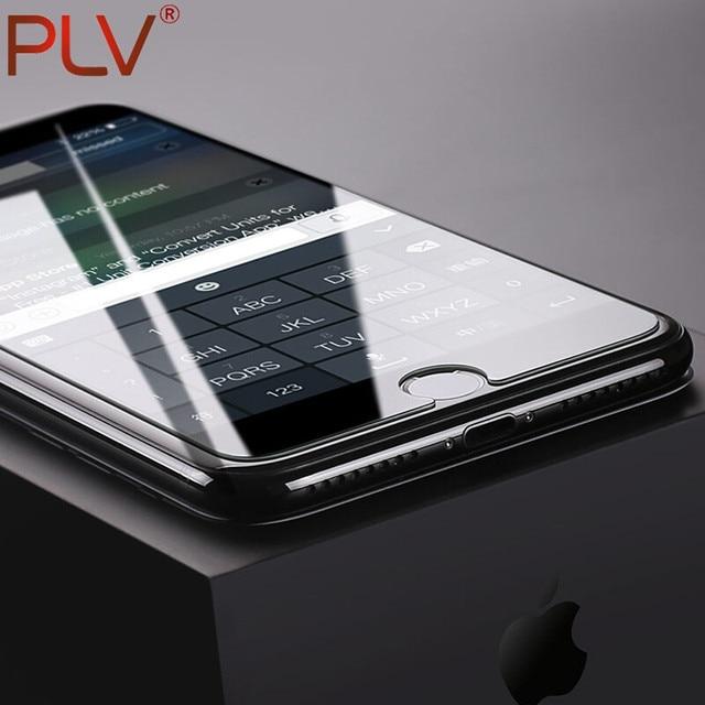 Plv 9 H 2.5D Anti-Explosion закаленное Стекло для iphone 4 4S 5 5S 6 6 S 7 Plus se Экран протектор Плёнка Arc олеофобное покрытие