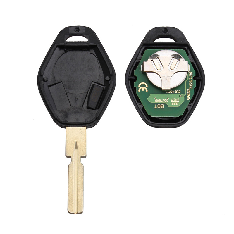 Image 2 - BHKEY HU58 Blade 3Buttons Remote Car key For BMW 315/433Mhz For BMW E38 E39 E46 EWS System ID44/PCF7935 Chip Uncut Blade-in Car Key from Automobiles & Motorcycles