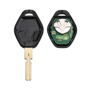 Image 2 - BHKEY HU58 Blade 3Buttons Remote Car key For BMW 315/433Mhz For BMW E38 E39 E46 EWS System ID44/PCF7935 Chip Uncut Blade
