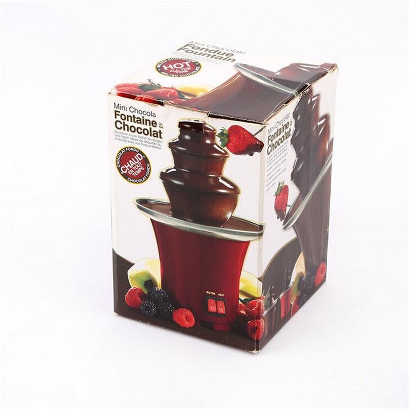 New Mini Chocolate Fountain Creative Design Chocolate Melt With