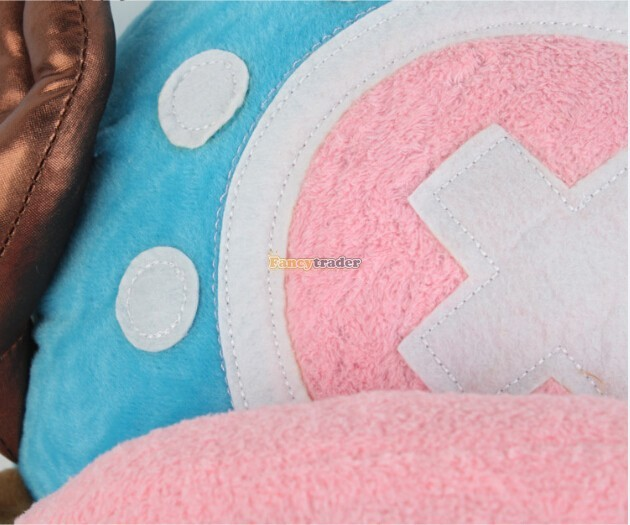 Fancytrader 20\'\' 50cm Plush Stuffed One Piece Tony Tony Chopper Toy, Free Shipping FT90319 (4)
