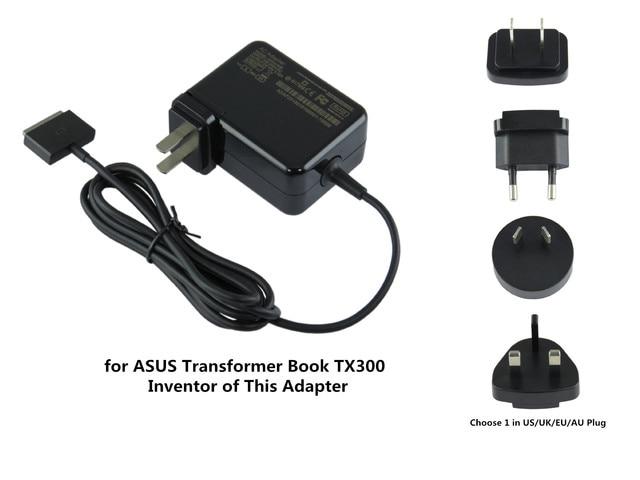 65 W AC Portátil Adaptador de Cargador Para ASUS Transformer Book ...