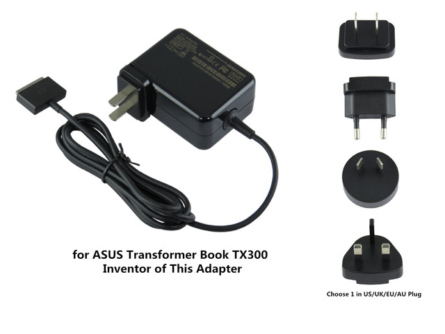 65W AC Laptop Power Adapter Charger For ASUS Transformer Book TX300 ...
