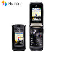 """100% oryginalny Motorola RAZR2 V9 telefon komórkowy 2.2 """"3G 2GB 2.0MP GSM WCDMA odwróć telefon komórkowy darmowa wysyłka-w zaplombowane pudełko"""