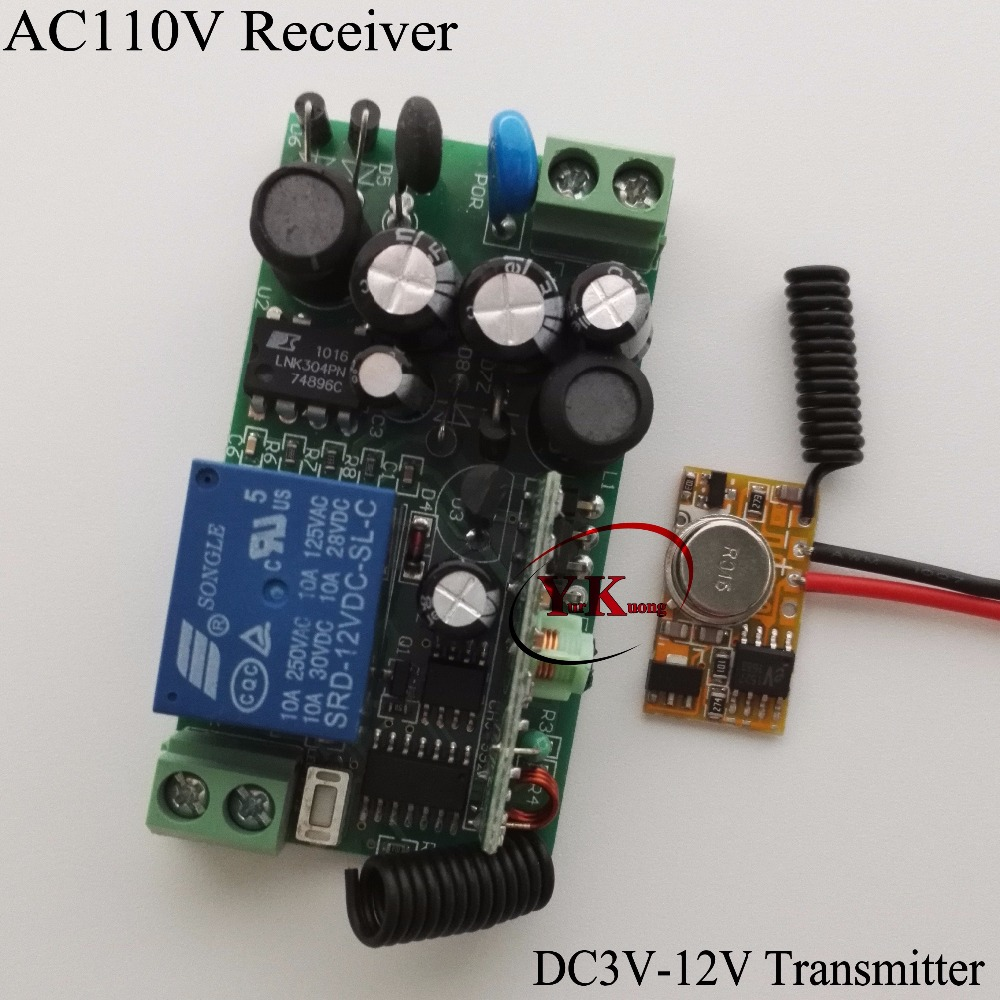 Micro Transmitter PCB can be wired Power ON Transmitting Remote DC3V 3.7V 4.5V 5V 6V 7.4V 9V 12V TX + AC110V 220V 240V 230V RX dc3 5v dc12v mini relay receiver dc3v dc12v transmitter pcb power on transmitting 3 7v 4 5v 5v 6v 7 4v 9v 12v wireless tx rx mod