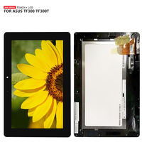 For ASUS TF300 TF300TG TF300T TF300TL 5158N FPC 1 LCD Display Touch Screen Digitizer Assembly with Frame + Tools