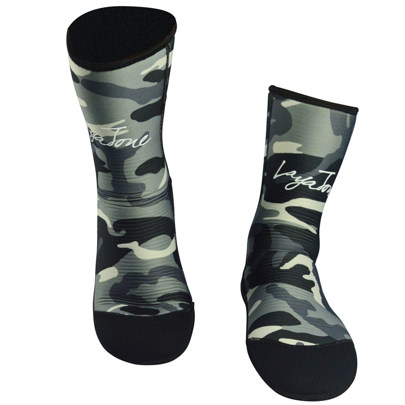 9mm Neoprene Diving Socks For Men Women Underwater Hunting Spearfishing Swimming Snorkeling Wetsuit Boots Shoes Fins Camouflage